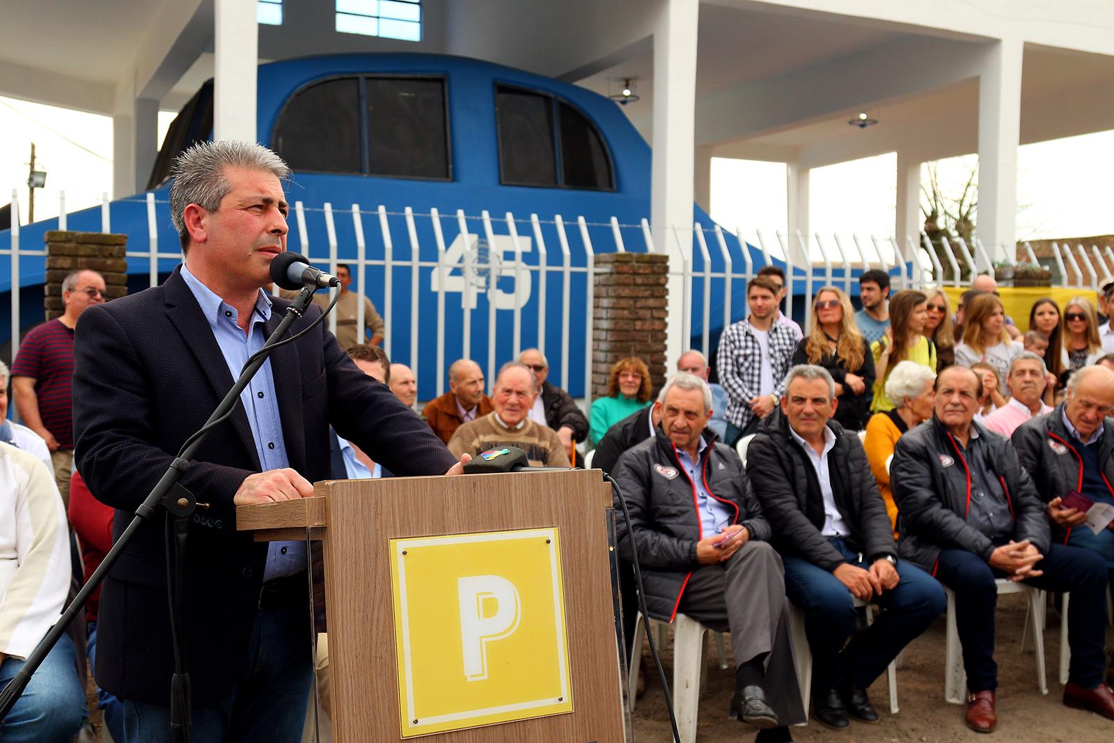El sábado, se declaró Monumento Histórico Nacional de Turismo Carretera a la Casa Auto en el marco de los 80 años de la Asociación Corredora de Turismo Carretera.