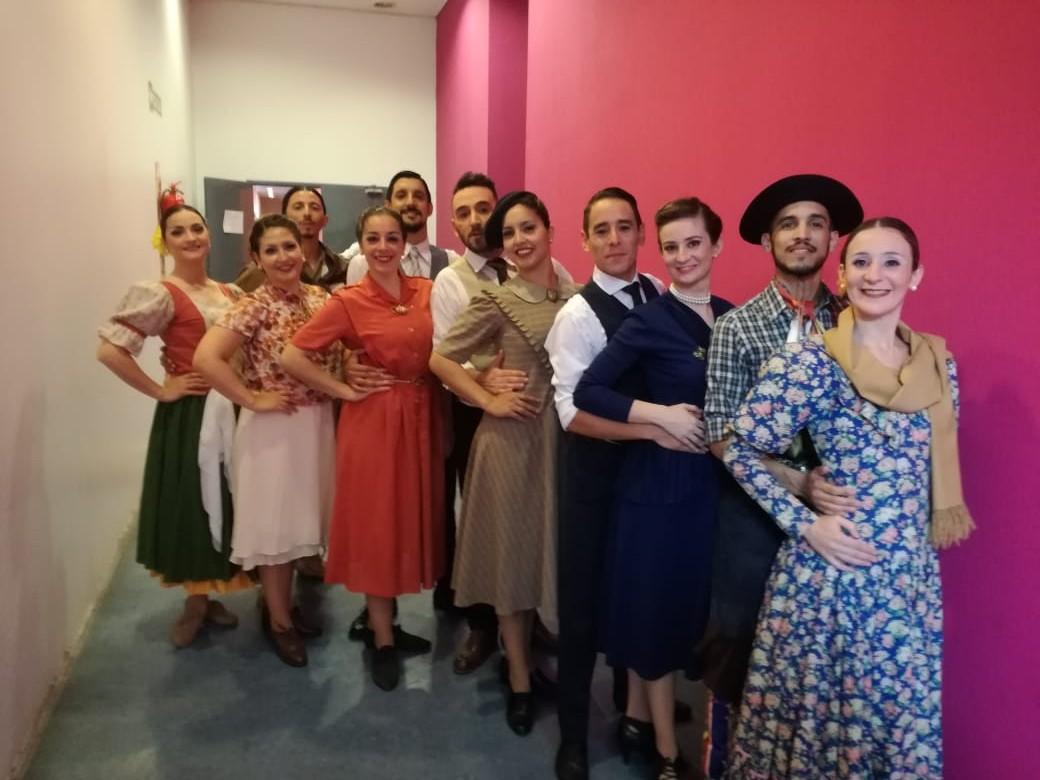 Cuerpo Municipal de Danzas, de Pergamino al país
