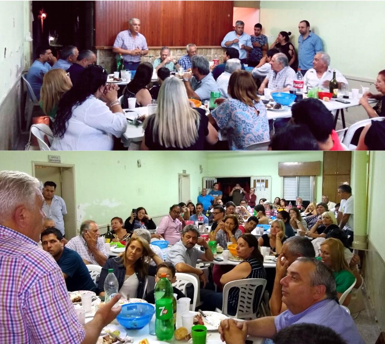 El viernes por la noche, la Agrupación Unidad y Esperanza Justicialista que conduce Manuel Elías, realizó una reunión para analizar lo ocurrido durante el año 2018 y las perspectivas para 2019.