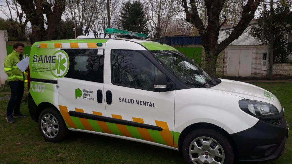 El coordinador del SAME Pergamino, Federico Sibilia, viajó a La Plata donde el Ministerio de Salud de la provincia de Buenos Aires realizó la entrega de un móvil con equipamiento para asistir ante la emergencia.