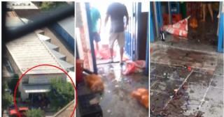 Violento saqueo a un supermercado: temen por una ola de robos