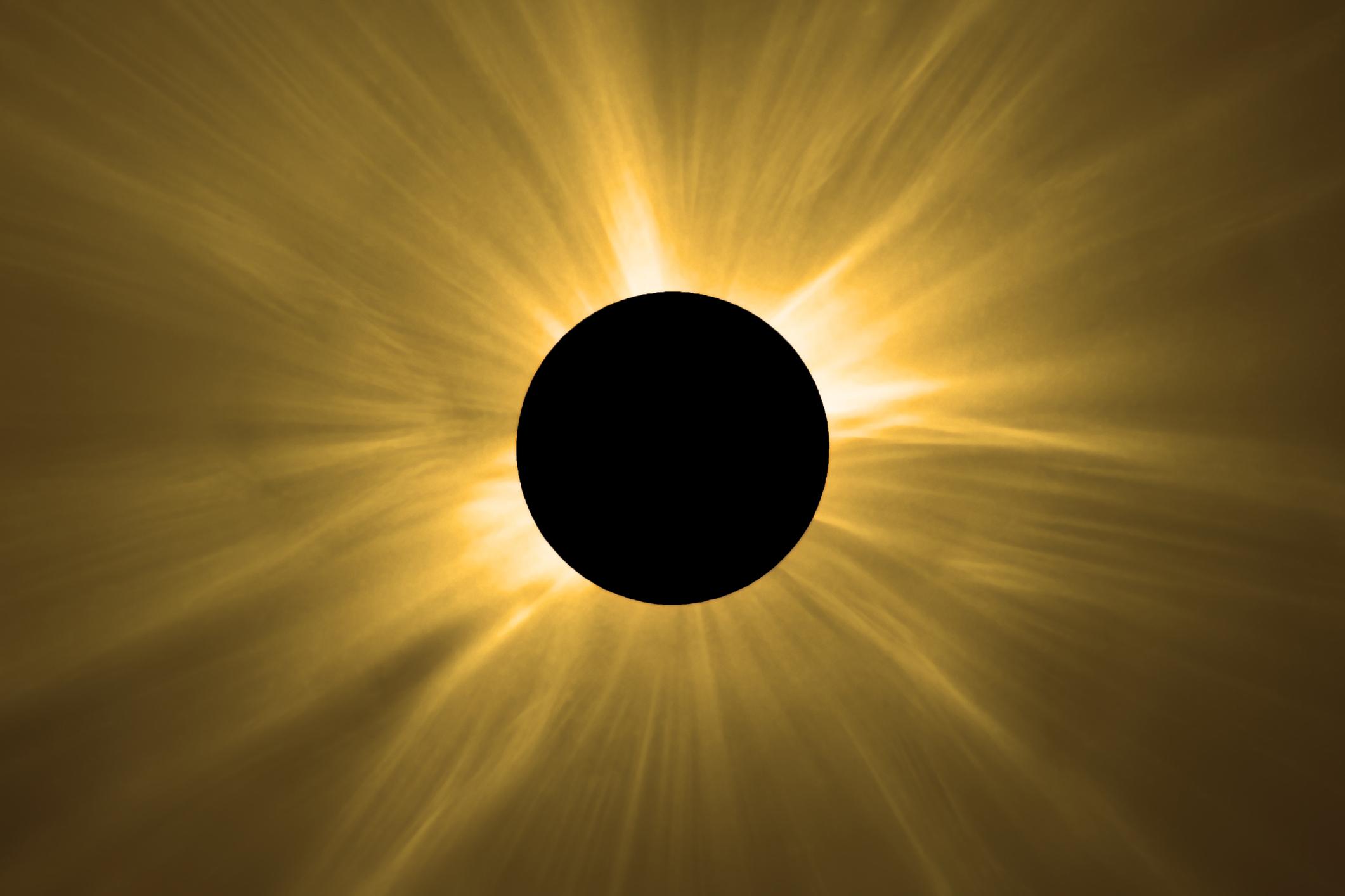 El martes 2 de julio de 2019 se producirá un eclipse solar que comenzará por el océano Pacífico, entrará en Chile, cruzará Argentina y Uruguay y finalizará en el punto sur de la desembocadura del Río de la Plata.