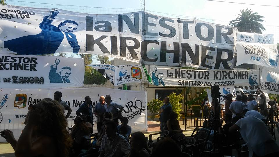 """Agrupación La Néstor Kirchner de Pergamino viajará a Buenos Aires para participar de la marcha del 21 de febrero. En medio de las polémicas por el motivo real de la manifestación, Pablo Quevedo, referente local, dejó en claro que la manifestación """"es de los trabajadores""""."""