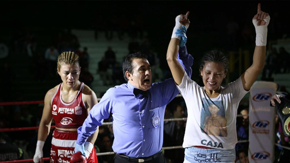 """El Concejo Deliberante declarará """"pergaminense sobresaliente"""" a la """"Indiecita"""" Anahí Sanchez por su labor en el boxeo mundial. El evento será este martes a las 18 horas, previo a la decimoquinta sesión ordinaria."""