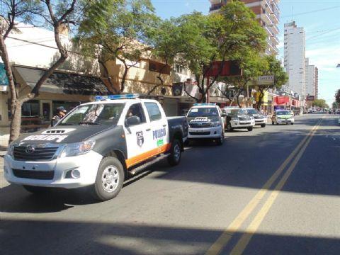 La Provincia envi� 14 nuevos m�viles policiales.