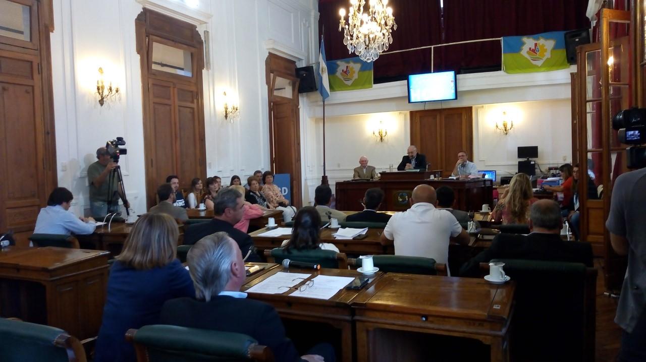 En la última sesión del Concejo Deliberante se declaró ciudadano ilustre al profesor Atilio Saint Julien.
