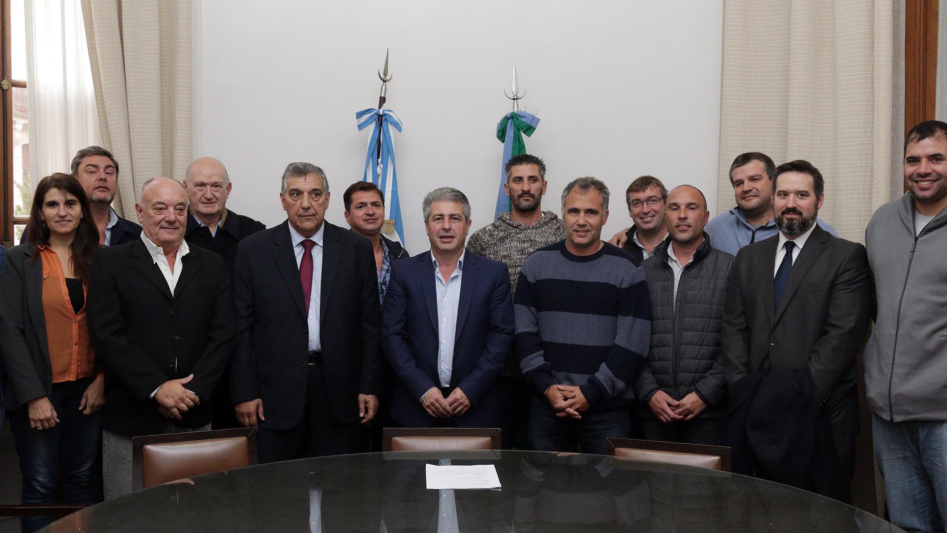 """El intendente del Partido de Pergamino, Javier Martínez, dijo que hoy es un día importante para la ciudad, la integración y el deporte"""""""