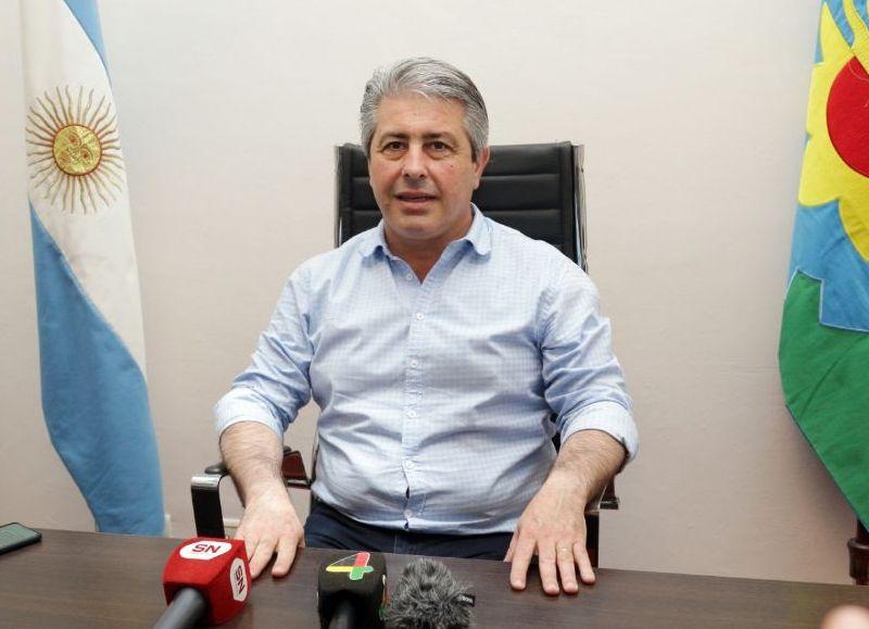 El intendente de Pergamino Javier Martínez.
