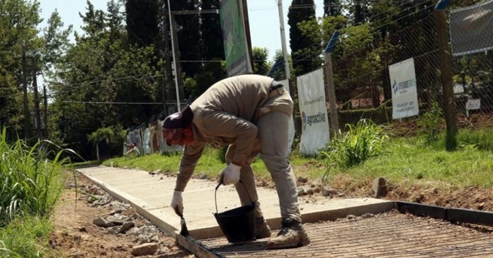 Comienzan los arreglos en el Circuito Aeróbico Parque San Martín.