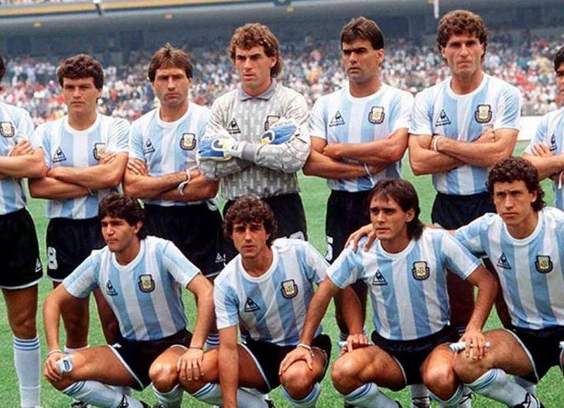 Plantel que compitió en la Copa Mundial de Fútbol 1986