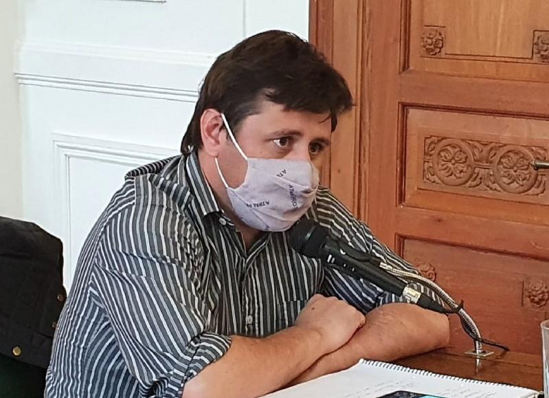 Álvaro Reynoso, concejal del Frente de Todos.