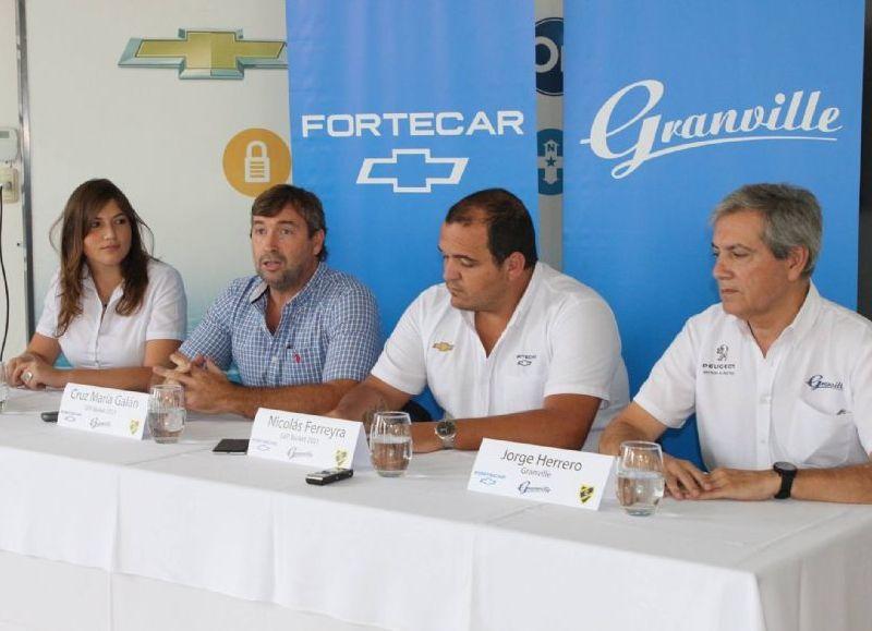 """Presentación de la Copa """"Forte Car Grandville""""."""