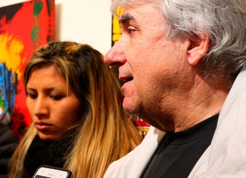 Anahí Sánchez y el 'Kanga' Bonet.
