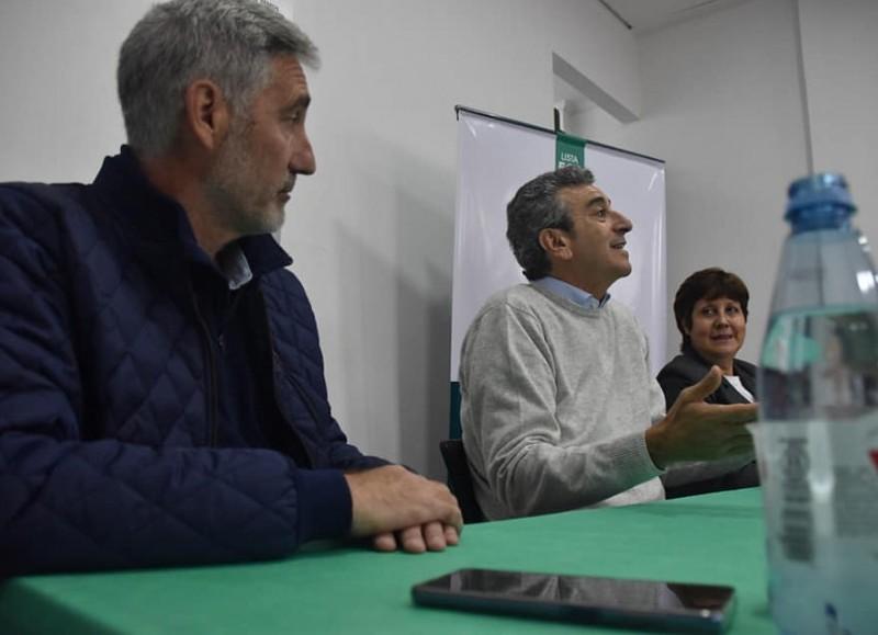 Pedro Rossi y la polémica conferencia con Randazzo.