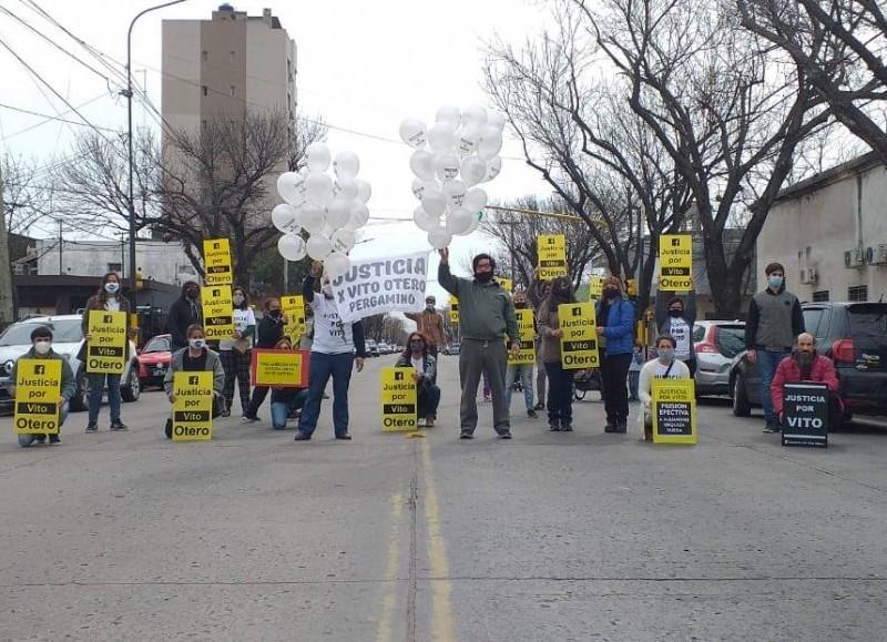 Una de las recientes marchas.