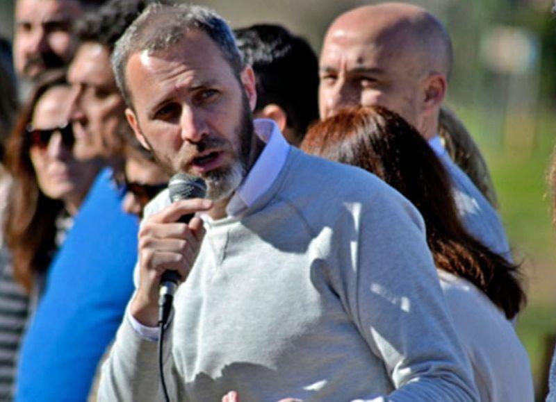 José Agudo, consustanciado con la campaña.