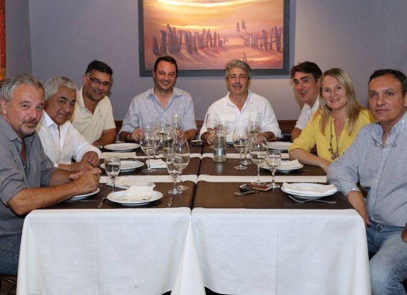 Martínez lideró la mesa de trabajo de la segunda sección que se concretó el pasado 21 de noviembre en el Club Social de la ciudad.