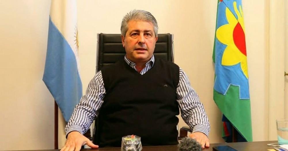 El anuncio del intendente Martínez.