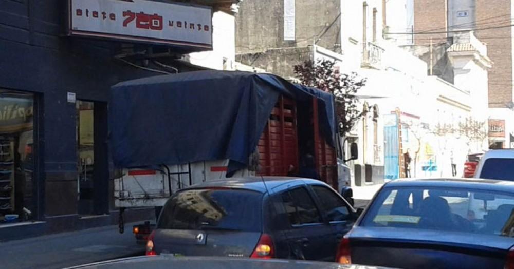 Problemas con el tránsito.