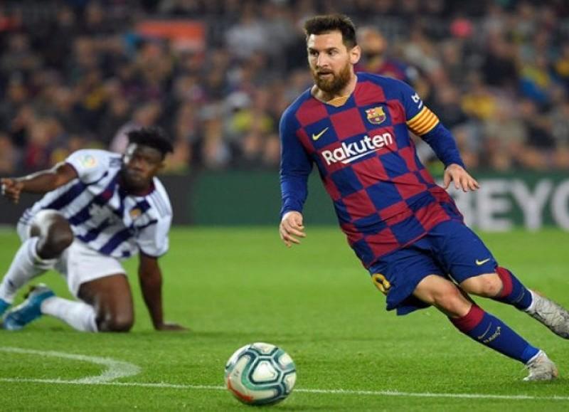 Lionel Messi a sus 33 años añadió un nuevo hito a su larga carrera en el Barça.
