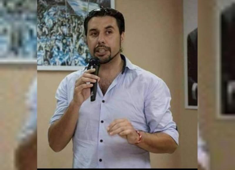 Mauro Arana, dirigente del partido PARTE.