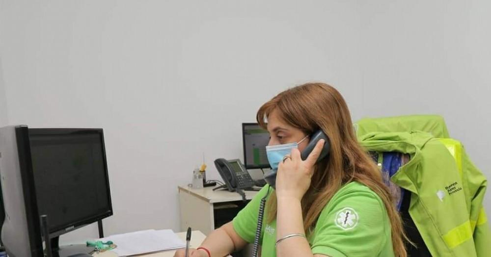 María Marha Peretta, secretaria de Salud.
