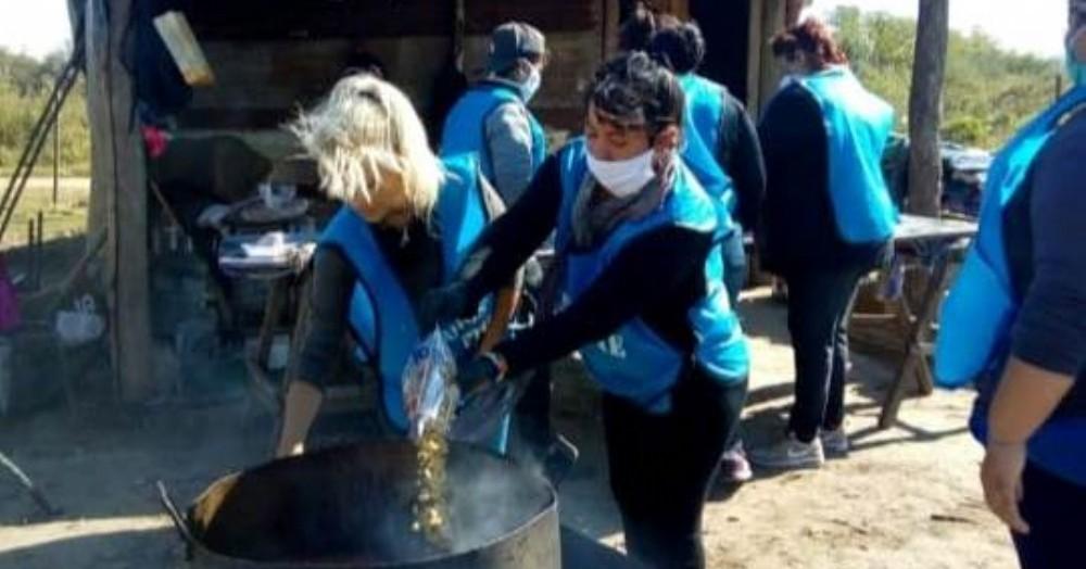 Desde Barrios de Pie-Libres del Sur piden que se agilice la entrega de alimentos.