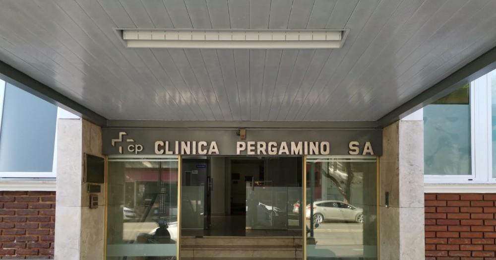 Un hombre de 43 años, internado en la Clínica Pergamino.