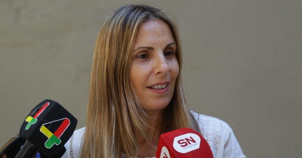 La secretaria de Salud María Martha Perretta