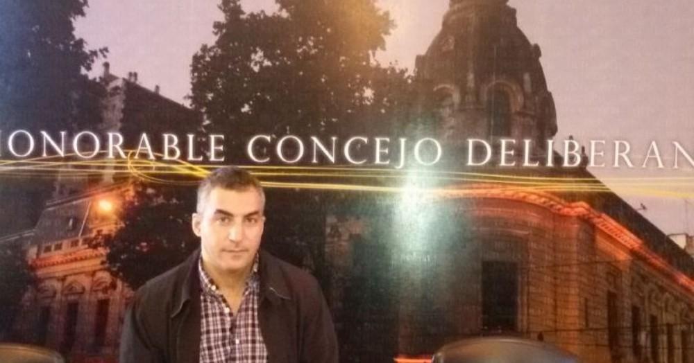 Diego Brigati, ex candidato a concejal dentro de la interna peronista.
