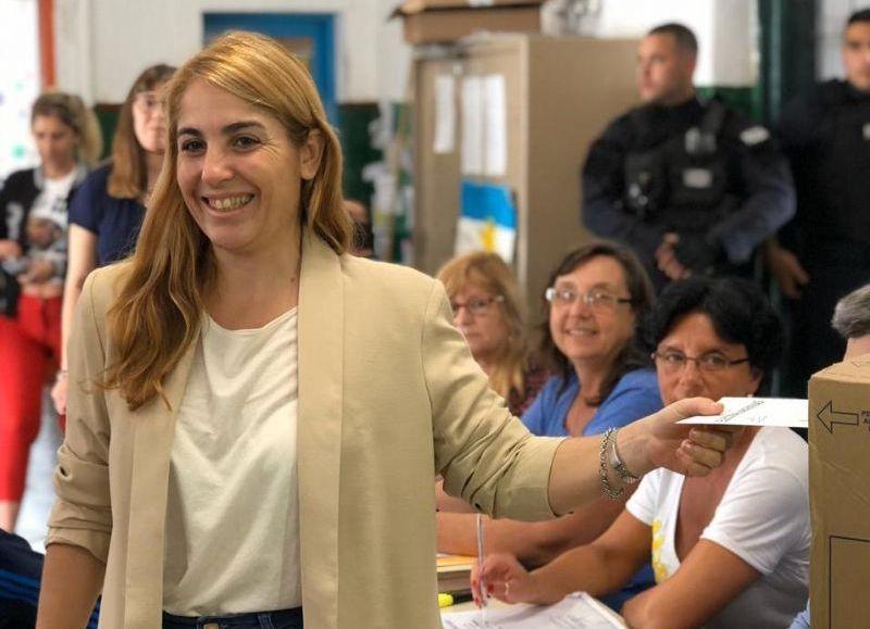 Eugenia Ball Lima, candidata a jefa comunal por el Frente de Todos.