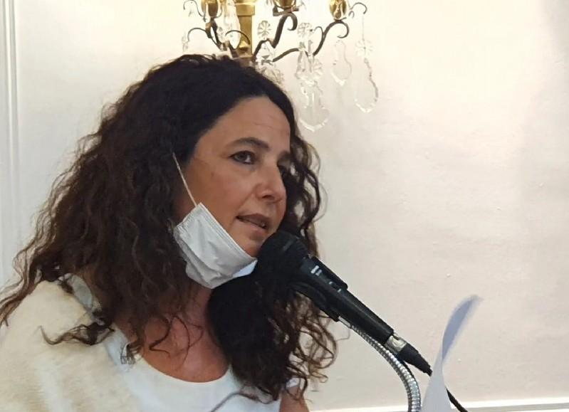Gabriela Taruselli, titular del HCD.