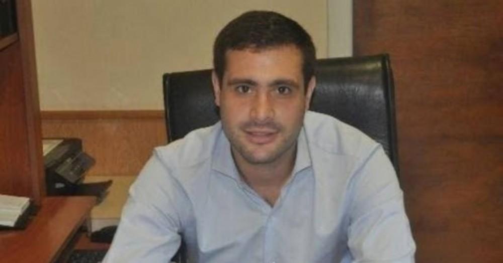 Camilo Alessandro, secretario privado de la Intendencia de Salto.