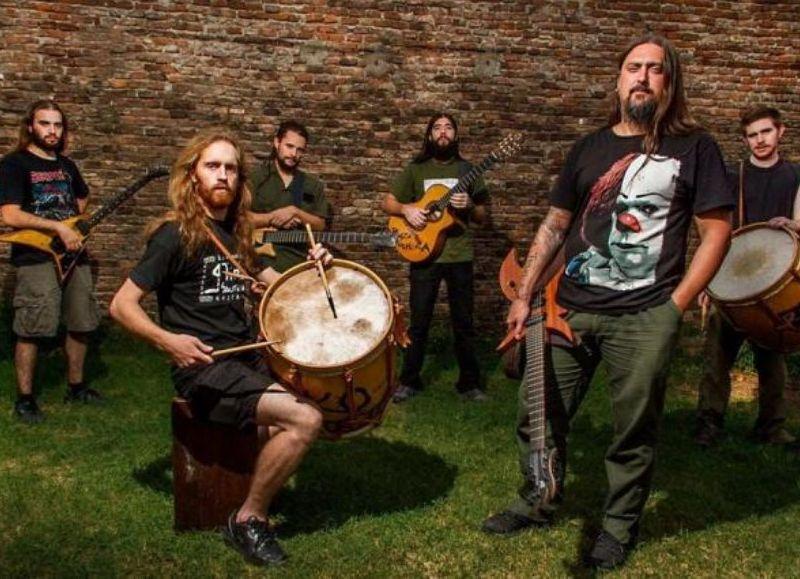 La banda de folkmetal.