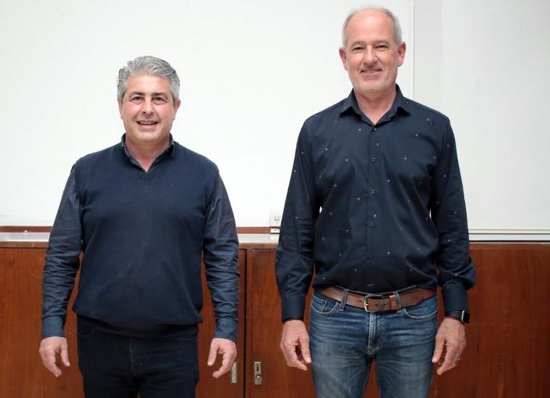 Javier Martínez e Ignacio Maiztegui.