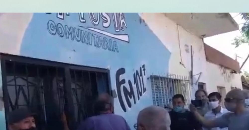 Vecinos recuperaron la sede de la Comisión de Fomento del Barrio Belgrano, que en 2014 había usurpado el entonces concejal y hoy diputado nacional, Lisandro Bormioli.