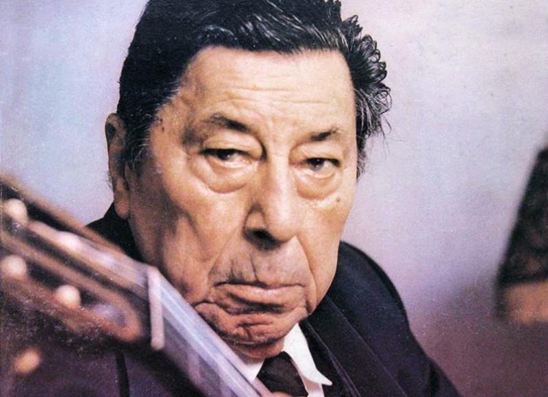 Atahualpa Yupanqui (1908-1992).
