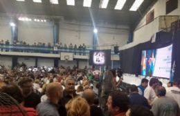 Pergaminenses en el congreso del PJ bonaerense
