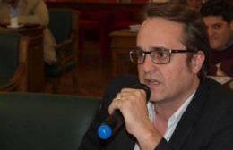 El concejal Cristian Settembrini.