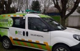 El SAME tiene un nuevo vehículo para asistir en la emergencia