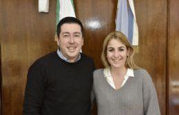 Ball Lima visitó el Centro Operativo Municipal de Malvinas Argentinas junto a Leonardo Nardini