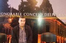 Diego Brigati, edil del PJ-FpV.