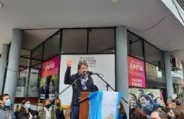"""Manes en Pergamino: """"La sociedad quiere un cambio de rumbo"""""""