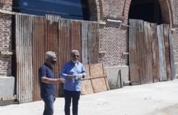 Trabajan en el nuevo Centro Cultural Bellas Artes