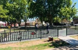 Plaza San Martín: novedoso espacio de juegos para niños y niñas con TEA