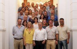 Javier Martínez reunió a referentes del PRO de la Segunda Sección