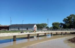 Avanza la construcción de la Isla de Juegos del Parque Belgrano