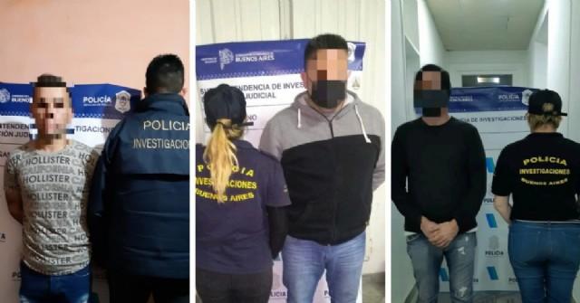 Tres boqueteros detenidos por robar medio millón de pesos de un corralón
