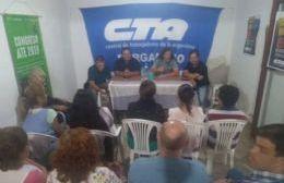 El referente sindical pasó por Pergamino.