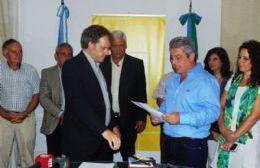 Juan Manuel Rico Zini juró como secretario de Gobierno un mes después de haber comenzado a ejercer sus funciones.